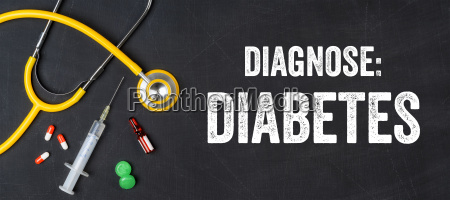 stethoscope and medicines diabetes
