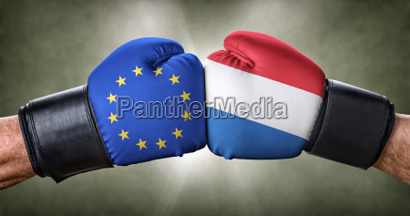 boxing match european union vs