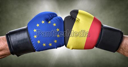 boxing match european union against