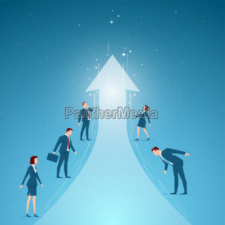 business, concept, vector, illustration - 19730163
