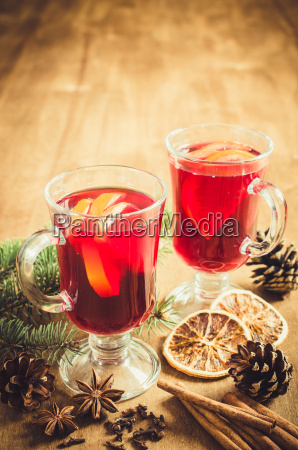christmas, mulled, wine, , spices, and, xmas - 19735043