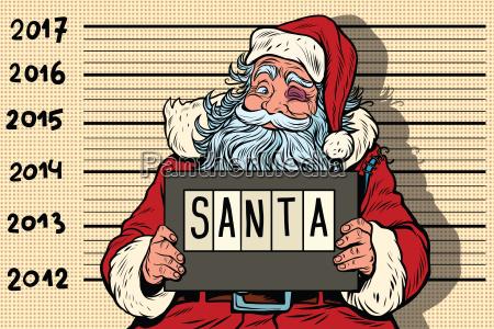 criminal santa claus arrested 2017 new
