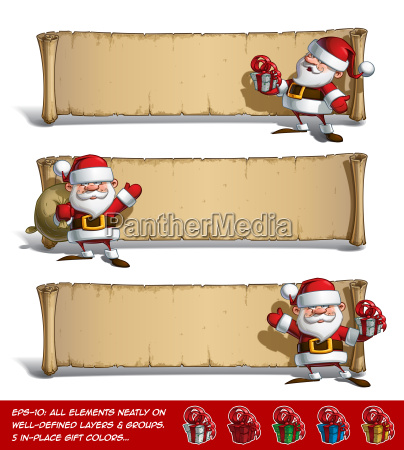 happy santas papyrus gift set