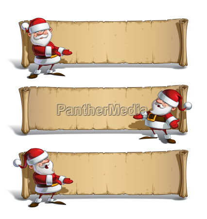 happy santas papyrus presenting set