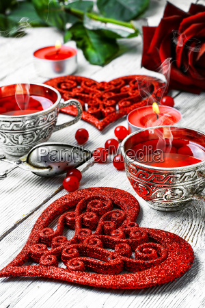 morning tea for valentines day
