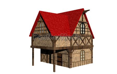 half timbered houses free