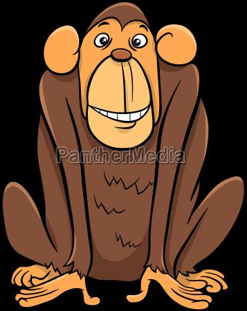 ape animal character