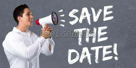 save the date appointment date invitation