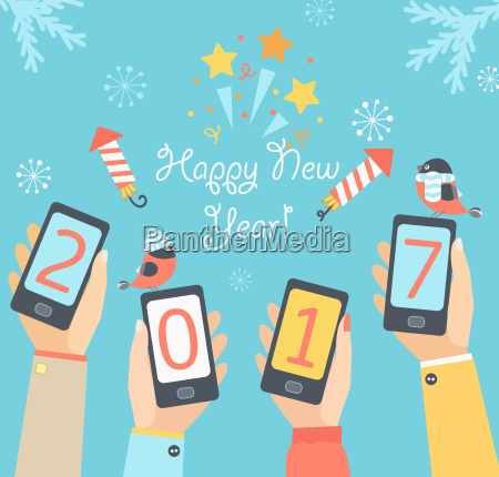 mobile new year 2017