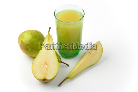 glass, of, pear, juice - 19777633