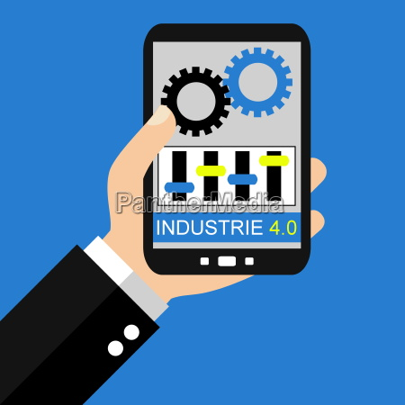 industry 40 with a smartphone