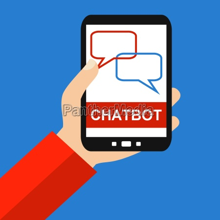 chatbot on the smartphone