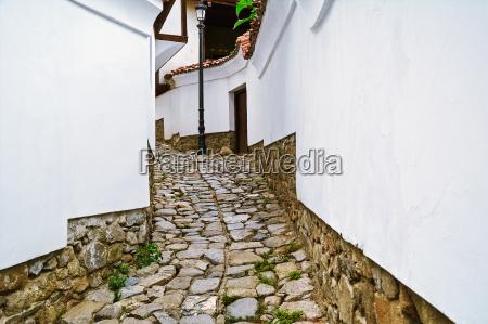 narrow street of plovdiv