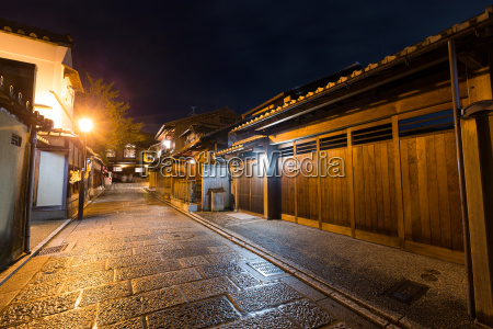 traditional japanese architecture in kyoto