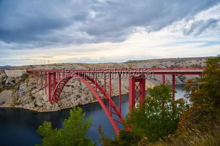 old maslenica bridge