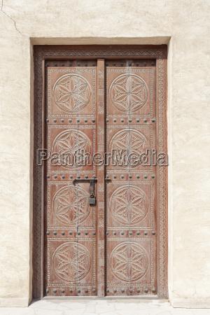 traditional arabic door