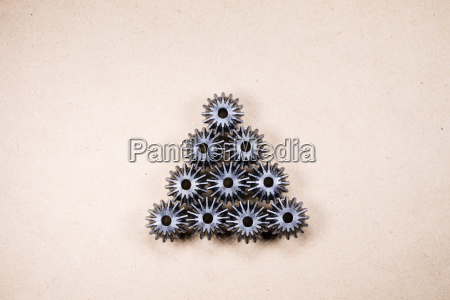 gears mechanical components background