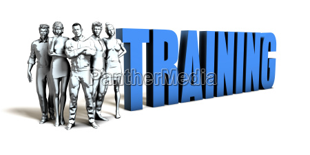 training business concept