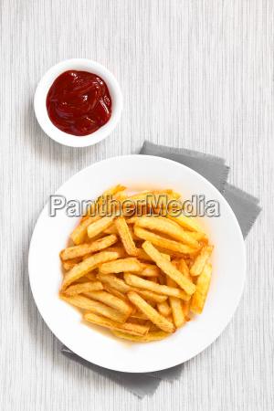 crispy homemade french fries