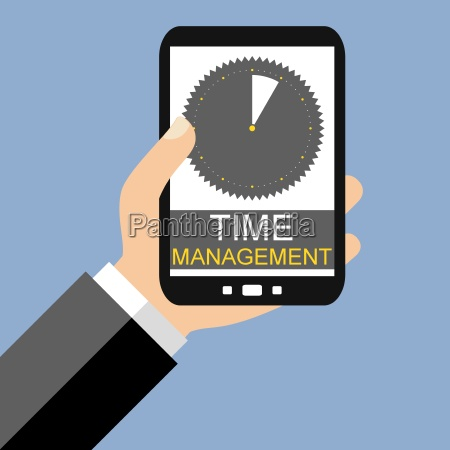 time management with the smartphone
