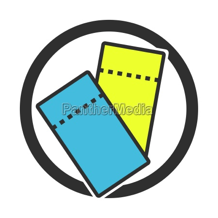 symbol for coupons or tickets