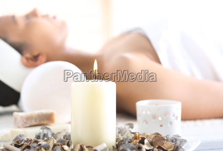 aromatherapy relaxation in the office of