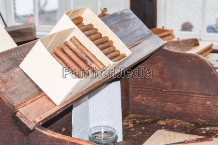 traditional production of cigars