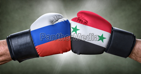 boxing match russia on syria