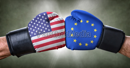 boxing match usa against european