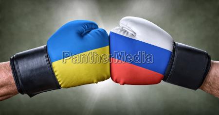 boxing match ukraine against russia
