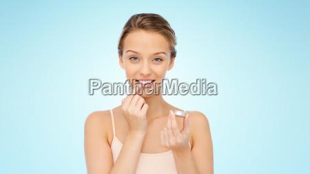 donna blu persone popolare uomo umano
