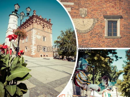 collage of sandomierz is among oldest