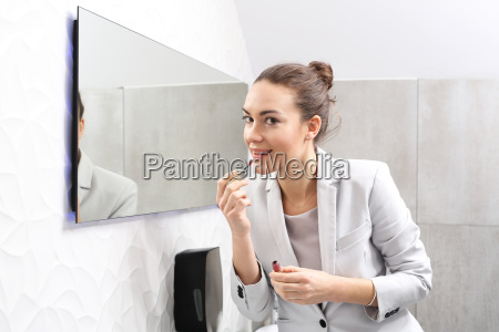 beautiful woman at work business woman