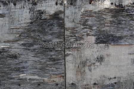 structure of a weathered wooden panel