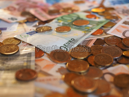 euro eur notes and coins european