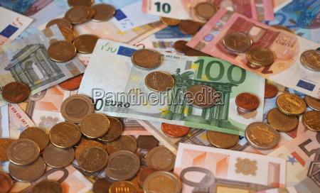 euro eur notes and coins european