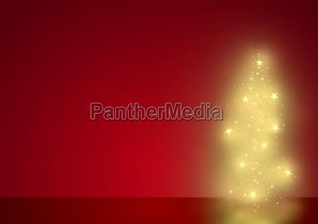christmas tree sparking