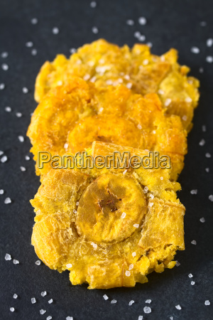 salted, patacon, fried, plantain, slices - 20114100