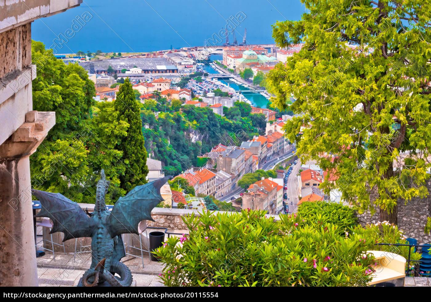 city, of, rijeka, view, from, trsat - 20115554