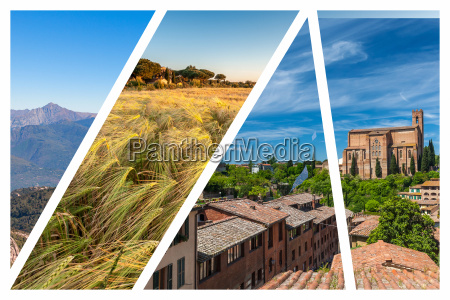 collage, of, the, hills, in, tuscany - 20115975