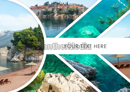 the, collage, of, sveti, stefan, island - 20115965