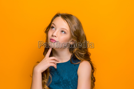 the, thoughtful, face, of, happy, teen - 20115847