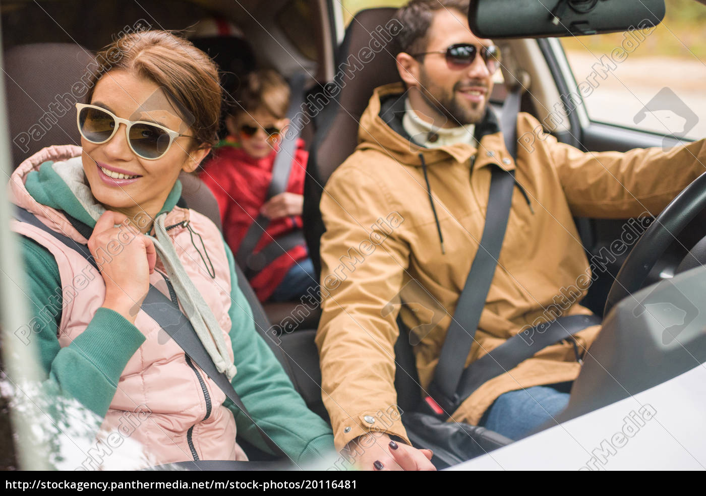 happy, family, travelling, by, car - 20116481
