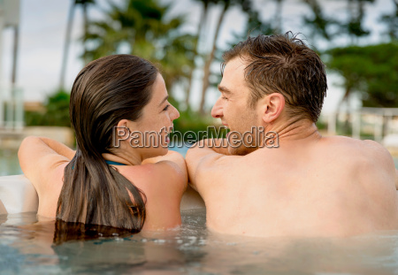 having, fun, in, jacuzzi - 20116359