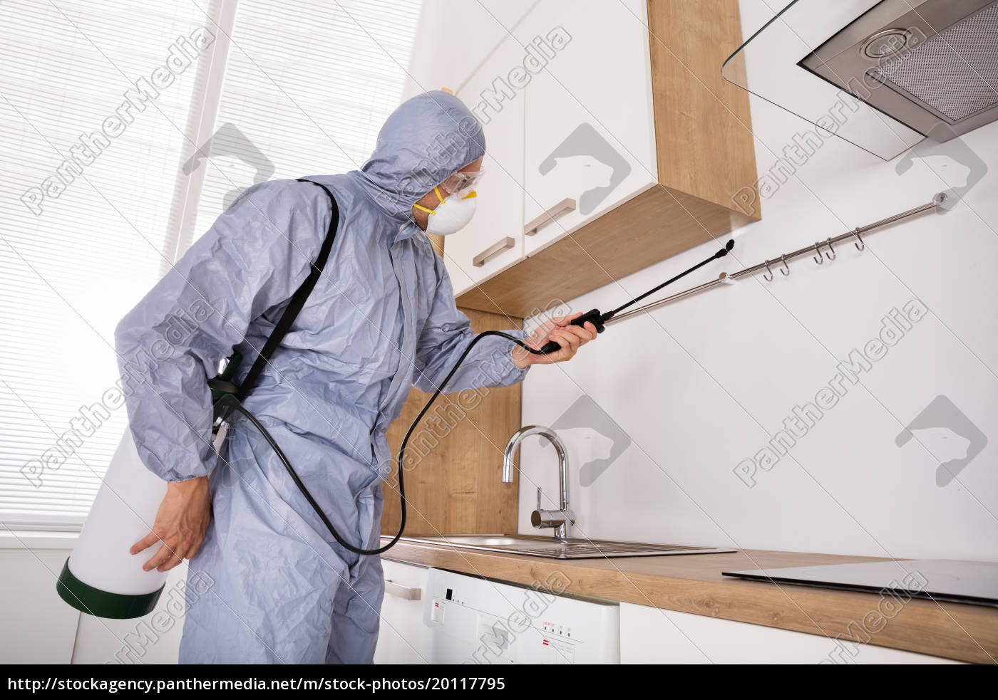 pest, control, worker, spraying, pesticide, in - 20117795