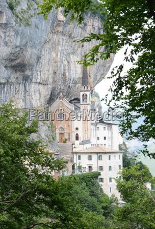 santuario madonna della corona italy