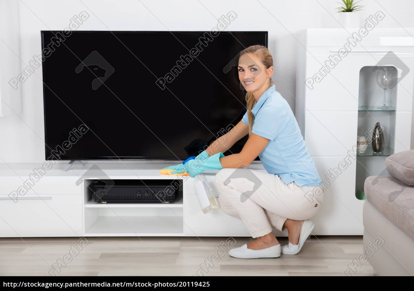 woman, cleaning, the, house - 20119425