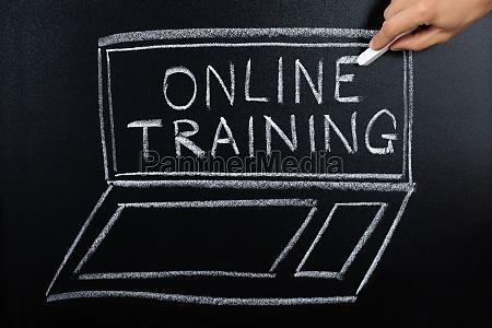 online, training, program, written, on, blackboard - 20125241