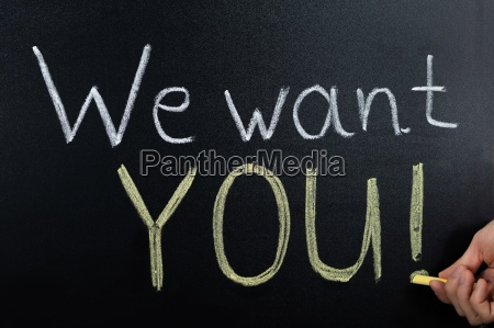 we, want, you, concept, written, on - 20125219