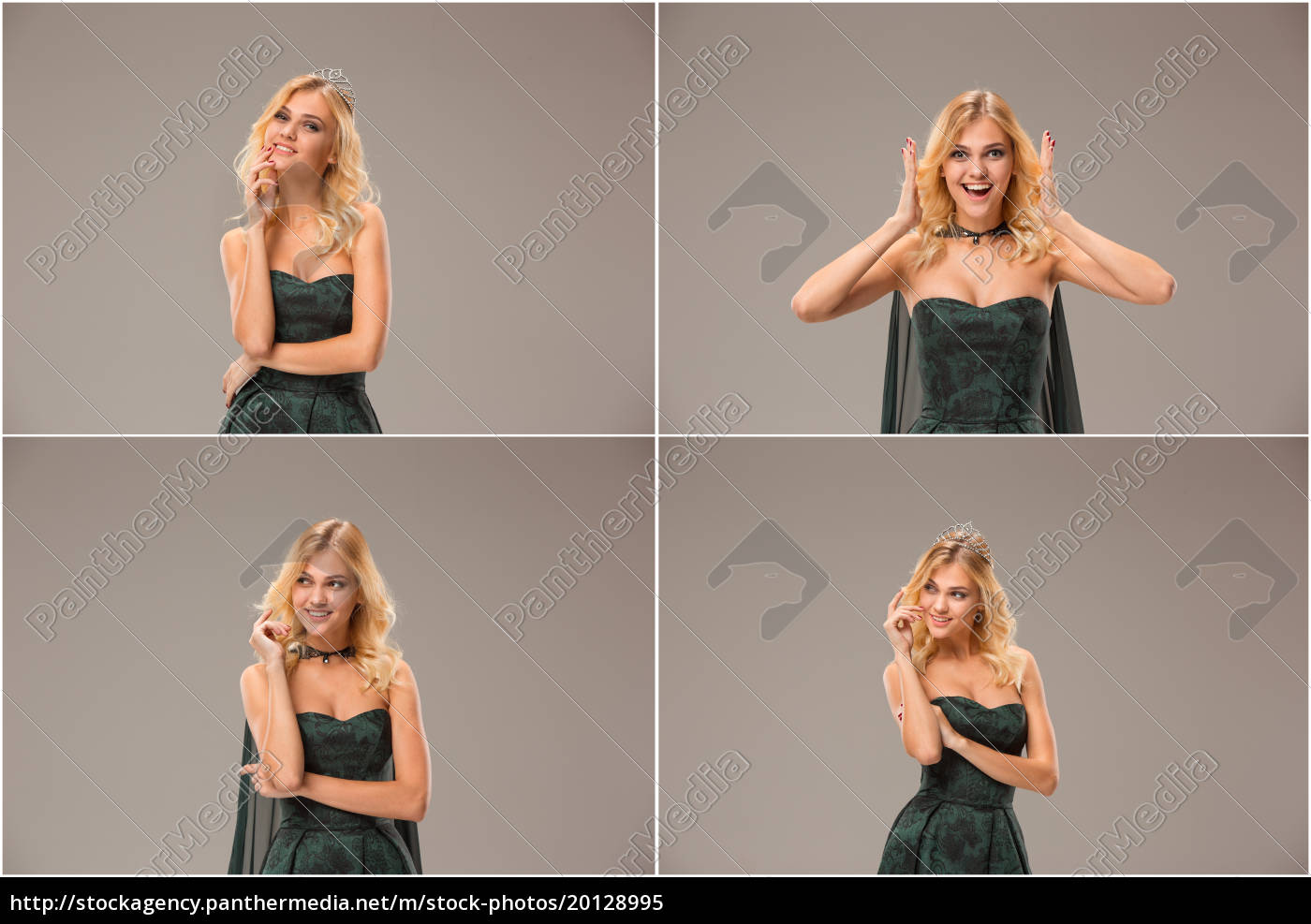 the, young, woman's, portrait, with, happy - 20128995
